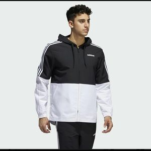 adidas Essentials 3-Stripes Windbreaker and pants